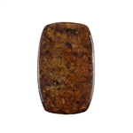 Natural Bronzite Gemstone - Cabochon Barrel 37x59mm - Pak of 1