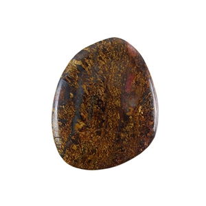 Natural Bronzite Gemstone - Cabochon Freeform 40x51mm - Pak of 1