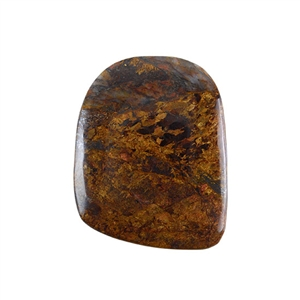 Natural Bronzite Gemstone - Cabochon Freeform 43x54mm - Pak of 1