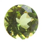 Natural Peridot Gemstone - Round