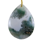 Ocean Jasper Gemstone - Pear Pendant 32mm x 43mm - Pak of 1