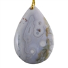 Ocean Jasper Gemstone - Pear Pendant 32mm x 47mm - Pak of 1