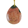 Ocean Jasper Gemstone - Pear Pendant 23x30mm - Pak of 1