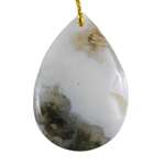 Ocean Jasper Gemstone - Pear Pendant 28mm x 41mm - Pak of 1