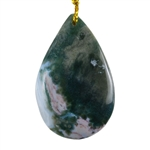 Ocean Jasper Gemstone - Pear Pendant 26mm x 41mm - Pak of 1