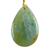 Ocean Jasper Gemstone - Pear Pendant 25mm x 39mm - Pak of 1
