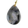 Ocean Jasper Gemstone - Pear Pendant 22x33mm - Pak of 1