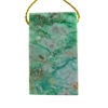 African Chrysoprase Gemstone - Rectangle Pendant 24mm x 41mm - Pak of 1