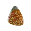 Owyhee Jasper Gemstone - Freeform Cabochon 29x40mm - Pak of 1