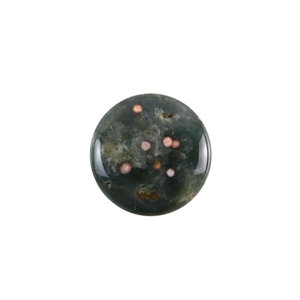 Ocean Jasper Gemstone - Round Cabochon 20mm - Pak of 1