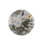 Ocean Jasper Gemstone - Round Cabochon 30mm - Pak of 1