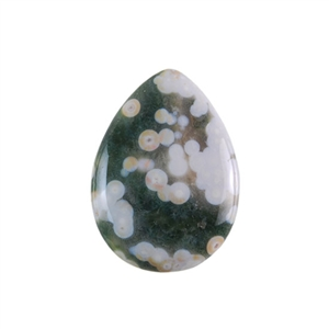 Ocean Jasper Gemstone - Pear Cabochon 22x30mm - Pak of 1