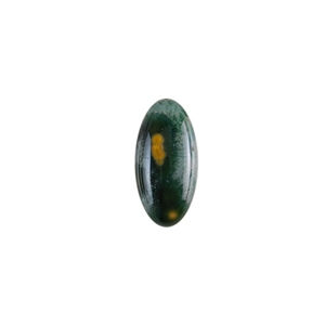 Ocean Jasper Gemstone - Oval Cabochon 10x20mm - Pak of 1