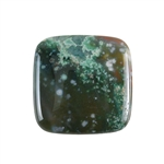 Ocean Jasper Gemstone - Square Cabochon 30mm - Pak of 1