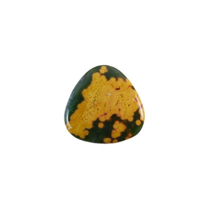 Ocean Jasper Gemstone - Trillion Cabochon 25mm - Pak of 1