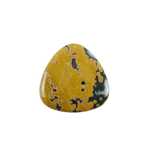 Ocean Jasper Gemstone - Trillion Cabochon 30mm - Pak of 1