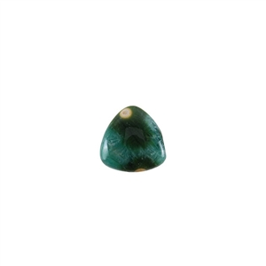 Ocean Jasper Gemstone - Trillion Cabochon 12mm - Pak of 1
