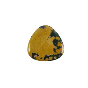 Ocean Jasper Gemstone - Trillion Cabochon 20mm - Pak of 1