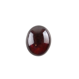 Natural Rhodolite Garnet Gemstone - Cabochon Oval 8x10mm