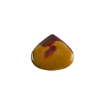 Mookaite Jasper Gemstone - Chubby Drop Cabochon 23x27mm - Pak of 1