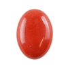Natural Red Jasper Gemstone - Cabochon Oval 18x25mm - Pak of 1