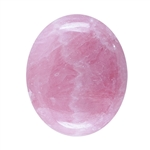 Natural Rhodochrosite Gemstone - Cabochon Oval