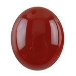 Natural Carnelian Gemstone - Cabochon Oval 10x12mm - Pak of 1