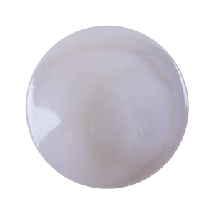 Natural Pink Shell Gemstone - Cabochon Round 10mm - Pak of 1