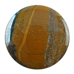 Tiger Iron Gemstone - Round Cabochon 40mm Pkg - 1