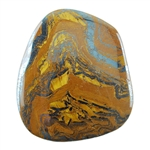Tiger Iron Gemstone - Freeform Cabochon 42mm x 48mm Pkg - 1