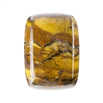 Natural Tiger Iron Gemstone - Cabochon Rectangle 13x18mm - Pak of 1