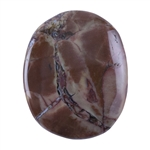 Butterfly Jasper Gemstone - Freeform Cabochon 28mm x 34mm