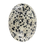 Natural Dalmatian Jasper Gemstone - Cabochon Oval 30x40mm - Pak of 1