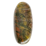 Picture Jasper Gemstone - Freeform 17mm x 29mm - Pak of 1