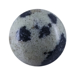 Natural Dalmatian Jasper Gemstone - Cabochon Round 6mm - Pak of 10