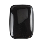 Natural Obsidian Mahogany Gemstone - Cabochon Rectangle 10x14mm - Pak of 2