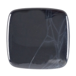 Spiderweb Obsidian Gemstone - Cabochon Square 30mm Pkg - 1