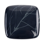 Natural Spiderweb Obsidian Gemstone - Cabochon Half Circle 60mm x 40mm Pkg - 1