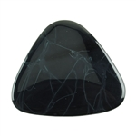 Natural Spiderweb Obsidian Gemstone - Cabochon Trillion 50mm Pkg - 1