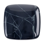 Spiderweb Obsidian Gemstone - Cabochon Freeform 14mm x 19mm  Pkg - 1