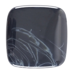 Natural Spiderweb Obsidian Gemstone - Cabochon Freeform 20mm x 35mm Pkg - 1