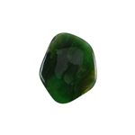 Natural Nephrite Gemstone - Cabochon Freeform 30x37mm - Pak of 1