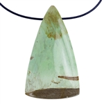 Variscite Nevada Opal Gemstone - Pear Pendant 24x39mm - Pak of 1