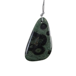 Kambaba Japser Gemstone - Freeform Pendant 29x52mm - Pak of 1