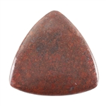 Natural Chrysocolla Cuprite Gemstone - Cabochon Triangle 50mm Pkg - 1