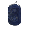 Natural Blue Coral Gemstone - Freeform Pendant 35x56mm - Pak of 1