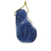 Natural Blue Coral Gemstone - Freeform Pendant 34x57mm - Pak of 1