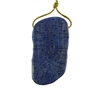 Natural Blue Coral Gemstone - Freeform Pendant 27x51mm - Pak of 1