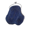 Natural Blue Coral Gemstone - Freeform Pendant 49x50mm - Pak of 1