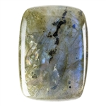 Natural Labradorite Gemstone - Cabochon Rectangle 18x25mm - Pak of 1